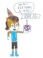Sally Acorn - Happy Birthday K-Kal! by dth1971