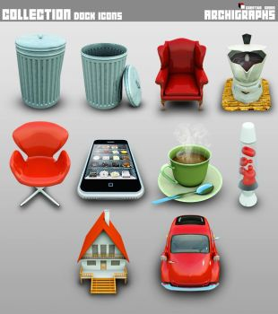 Archigraphs Collection Icons by Cyberella74