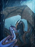 Comm: In The Rain by Ningaella3