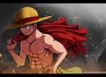 Monkey D. Luffy by CaesarAI