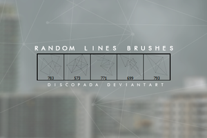 5 lines brushes by Discopada