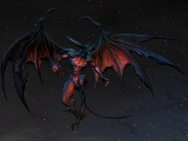 Diabolos/Diablos (From Final Fantasy XIV) for XPS! by Jorn-K-Nightmane