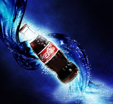 Coke Water Effect by DJgray87