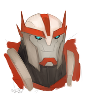 Ratchet Speedpaint by Arsevere