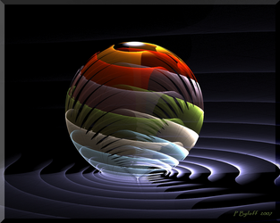Layered Sphere by Kabuchan