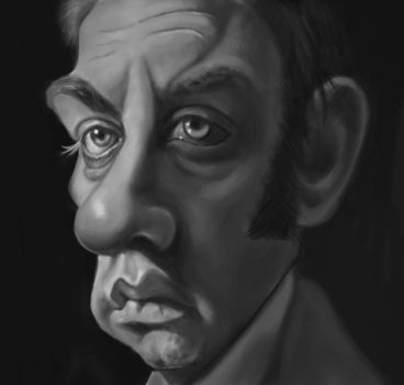 Donald Sutherland Caricature by du-har
