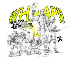 WHAAP!! by JREAGANA