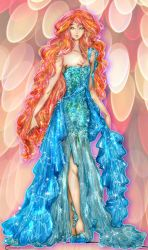 Sunset Shimmer - Haute Couture by Mellorine91