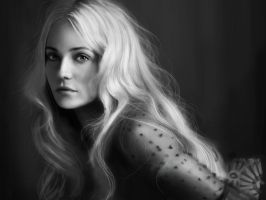 Diane Kruger portrait by Mathurin156