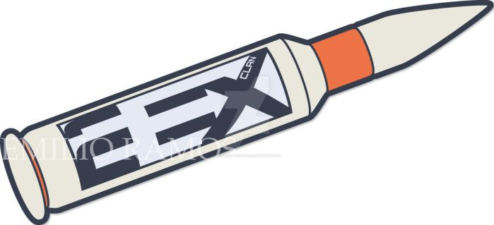 2EX Ver. 4 Bullet Blue Logo by ricosuave413