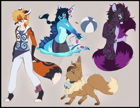 [P] Character sketches by Lukurio