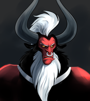 Tirek Portrait by peachiekeenie