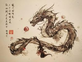 Dragon by jingyuzhang