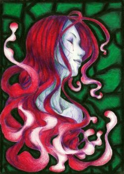 Medusa's tears by kubcia