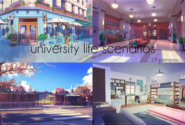 My Candy Love - University Life Scenarios by AuroraDazzling