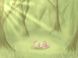 Peace and Quiet by BubblyBlackbird