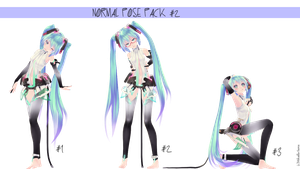 Normal Pose Pack #2 [DOWNLOAD] by Mikailla-Sama