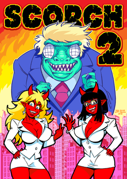 Scorch II Promo Cover by curtsibling