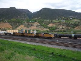 3 Union Pacifics at Glenwood by rh281285