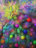 Surreal: Christmas Tree by DarkFalcon-Z