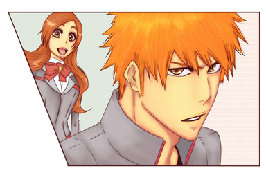 Bleach spine - IH by Rei-Ami