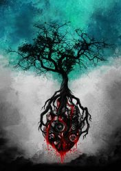 Tree of Life by touchedbyred