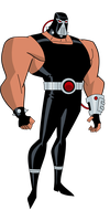 Batman TAS: Bane by TheRealFB1 by TheRealFB1