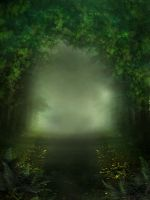 UNRESTRICTED - Mystery Woods Background 01 by frozenstocks