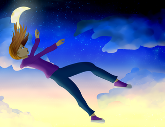 Free Fall by ReBaka-Chan