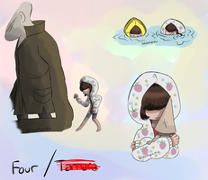 Four (Little nightmares OC part 2/3) by blackgcku