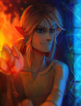Wild Link (cartoon version) by EponaN64