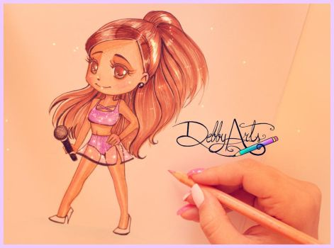 ARIANA - Chibi Version by DebbyArts