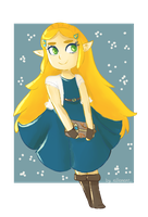 Cute Zelda! by ellenent