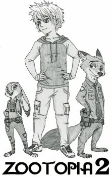 [COMMISSION] Cover for the Fanfiction Zootopia 2 by Ziegelzeig