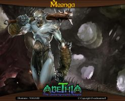 Moonga - Troll from the Depths by moonga