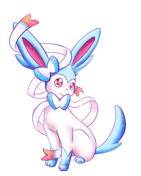 Shiny Sylveon by Alexxxa4
