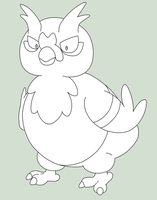 Chicken Pokemon by Galbert