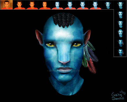 Anders' Avatar (Transformation) by GoingDownhill