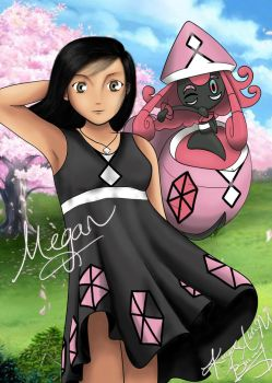 Megan and Tapu Lele by ab-angel