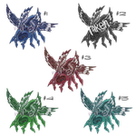 Angel Spider Floof Adopts(10 POINTS)(OPEN) by VernFeathers