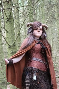 The faun in the forest by martha1101