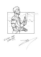New Vegas, a simple Courier... by Margenal