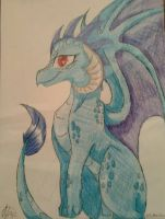 Princess Ember  by PrincessAdryMLP