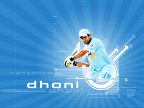 MS Dhoni by mukundnadkarni