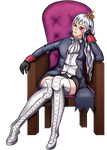 Queen! - Nyo!Prussia by eschata