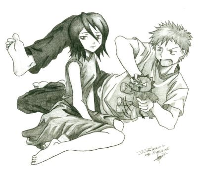 bleach-natsuhime bday gift by saouif