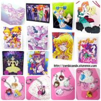 Chipettes and animal crossing charms and by zambicandy