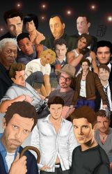 Man Candy-hot and great actors by skart2005