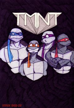 TMNT by Stachi
