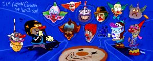 Lunch Clown Jpg by Makinita